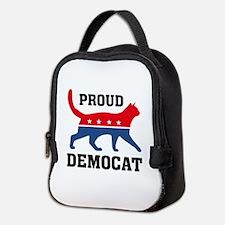 Proud Democat Neoprene Lunch Bag