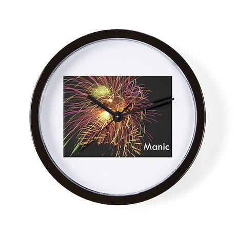 Manic Wall Clock