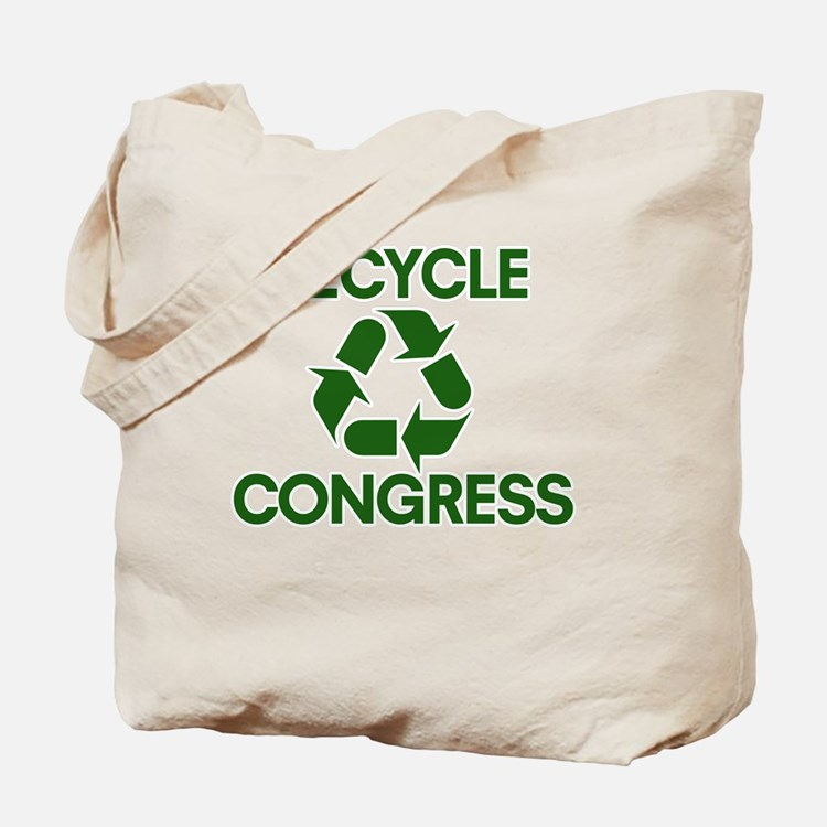 Cute Recycle congress Tote Bag