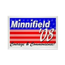 Minnifield in '08 Rectangle Magnet
