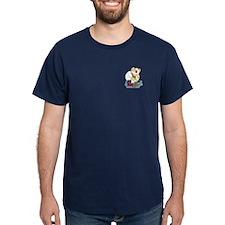 Snowman Curling T-Shirt