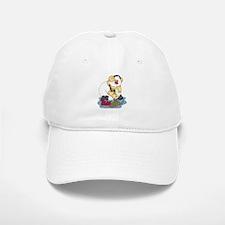 Snowman Curling Baseball Baseball Cap