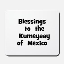 Blessings  to  the  Kumeyaay  Mousepad