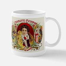 Charlotte Cushman Actress Cigar Label Mug