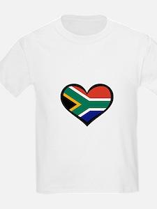 South Africa Love Heart T-Shirt