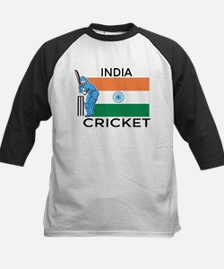 India Cricket Kids Baseball Jersey