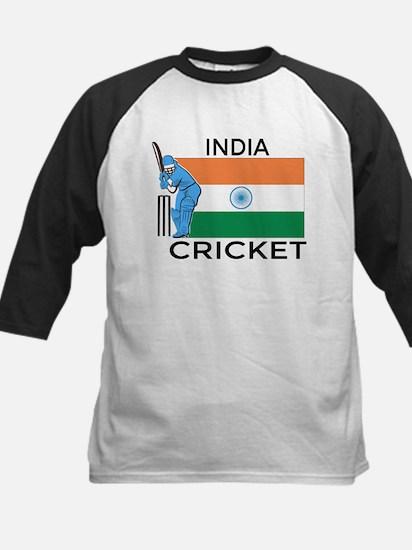 India Cricket Kids Baseball Jersey