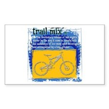 Trail Mix Rectangle Decal