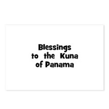 Blessings  to  the  Kuna of P Postcards (Package o