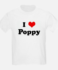 I Love Poppy T-Shirt