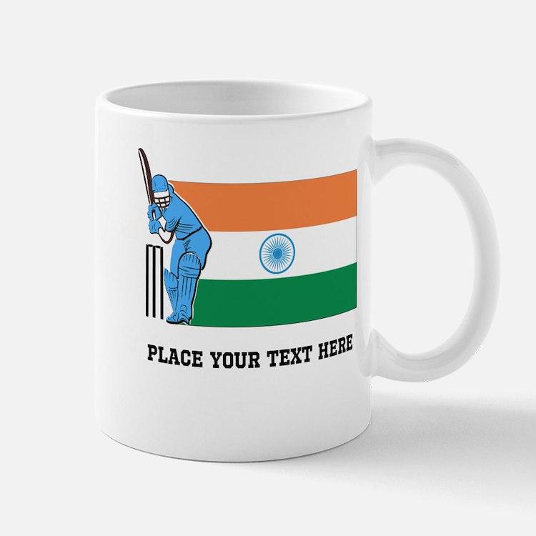 Personalize India Cricket Mug