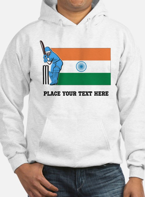 Personalize India Cricket Hoodie