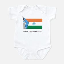 Personalize India Cricket Onesie