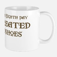 God Created Snowshoes Mug