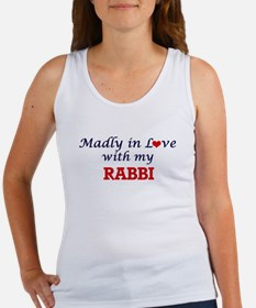 Madly in love with my Rabbi Tank Top