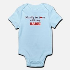 Madly in love with my Rabbi Body Suit