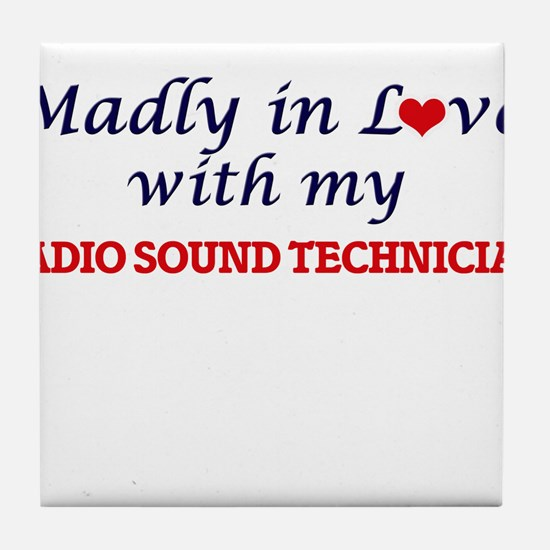 Madly in love with my Radio Sound Tec Tile Coaster