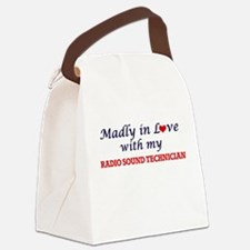 Madly in love with my Radio Sound Canvas Lunch Bag