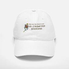 God Created Siberians Baseball Baseball Cap