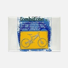 Tombstone Rectangle Magnet