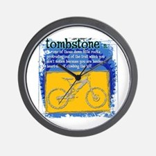 Tombstone Wall Clock