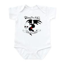 Gothic Christmas Monster Infant Bodysuit
