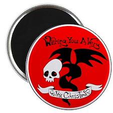 Gothic Christmas Monster Magnet