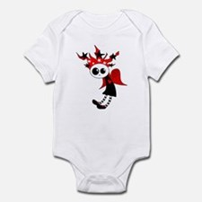 Gothic Xmas Fairy Infant Bodysuit