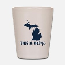 Michigan - This Is Home Shot Glass