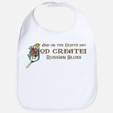 God Created Blues Bib