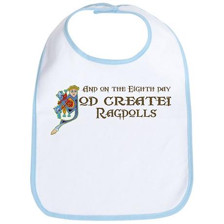 God Created Ragdolls Bib