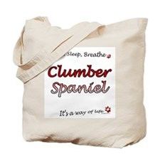 Clumber Breathe Tote Bag