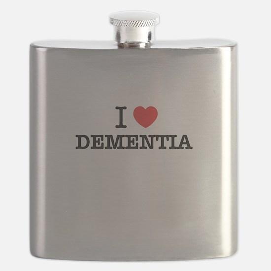 I Love DEMENTIA Flask