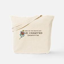 God Created Ragamuffins Tote Bag