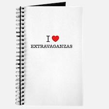 I Love EXTRAVAGANZAS Journal