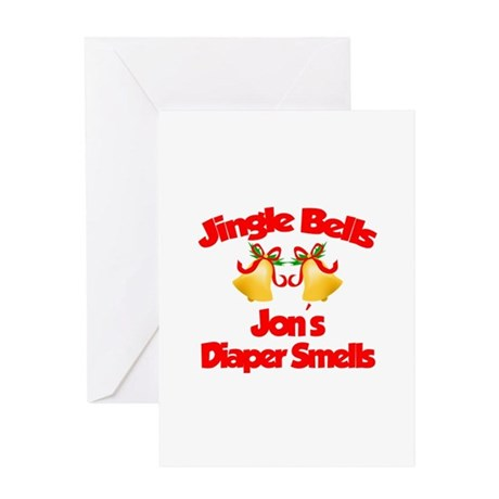 Jon - Jingle Bells Greeting Card