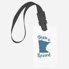 Minnesota - Born & Raised Luggage Tag