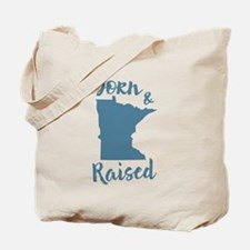 Minnesota - Born & Raised Tote Bag