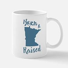Minnesota - Born & Raised Mug