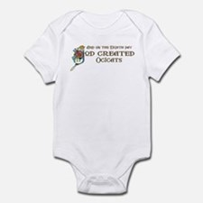 God Created Ocicats Infant Bodysuit