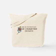 God Created Ocicats Tote Bag
