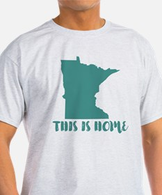 Minnesota - This Is Home T-Shirt