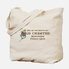 God Created Wegies Tote Bag