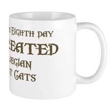 God Created Wegies Mug