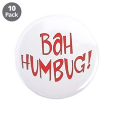 "BAH Humbug! 3.5"" Button (10 pack)"