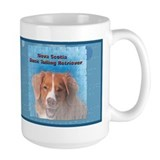 Nova scotia duck tolling retriever Large Mugs (15 oz)