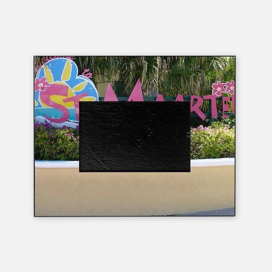 St. Maarten Picture Frame
