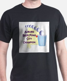 Auburn Beer Pong City Champio T-Shirt