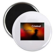 """Criminal Profiler 2.25"""" Magnet (100 pack)"""
