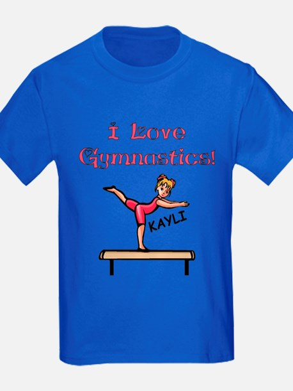 I Love Gymnastics (Kayli) T